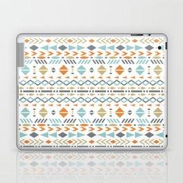 Southwestern Tribal Modern Geometric Stripes of Arrows Chevrons Diamonds Leaves Triangles Circles Laptop & iPad Skin