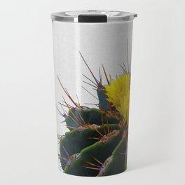 Cactus Flower Travel Mug