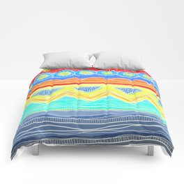 Sunrise Geometrics Comforters