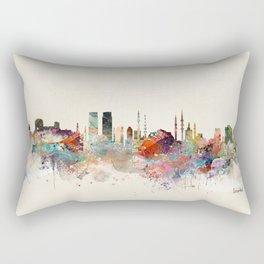 istanbul skyline Rectangular Pillow