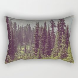 Faraway - Wilderness Nature Photography Rectangular Pillow