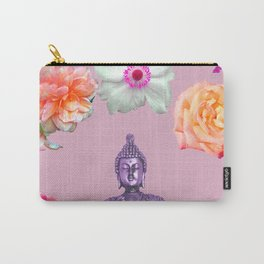 Lavender Buddha Carry-All Pouch