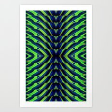 REFLECTED MARANTA Art Print
