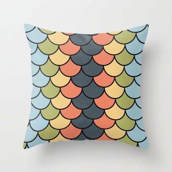 Modern Blend Throw Pillow
