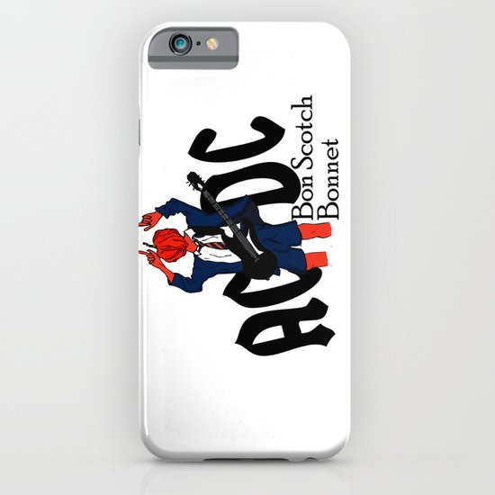 Bon Scot iPhone & iPod Case