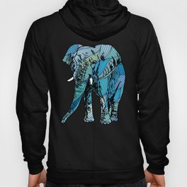 Artistic African Elephant Gift Save The Elephants Gift Hoody