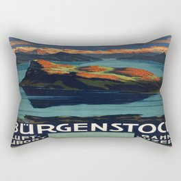 Vintage poster - Switzerland Rectangular Pillow