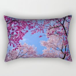 Cherry blossom explosion Rectangular Pillow