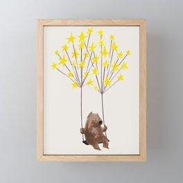 Stars Swing Framed Mini Art Print