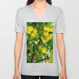 when life gives you lemons... Unisex V-Neck