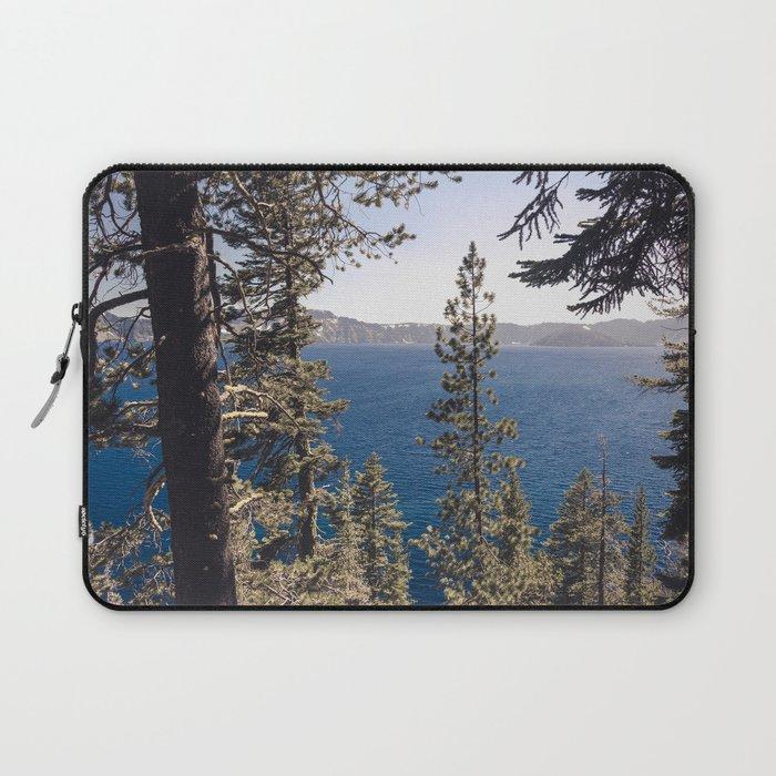 Hidden Lake Love - Nature Photography Laptop Sleeve