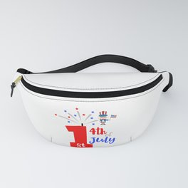 First 4th of July Fanny Pack