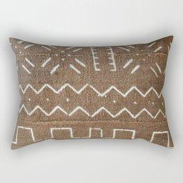 taupe geo mud Rectangular Pillow