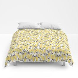 doodle felt pen pattern Comforters