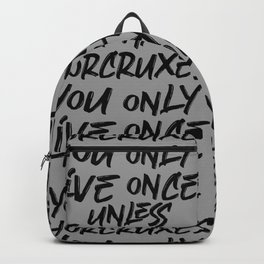 You only live once Backpack