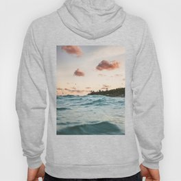 Waves at the sunset Hoody