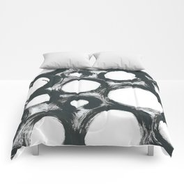 Circ Abstract Comforters