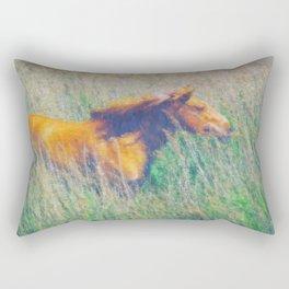 Gazing Rectangular Pillow