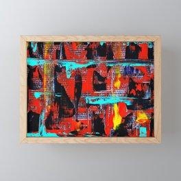 Reflections On 10th Street Framed Mini Art Print