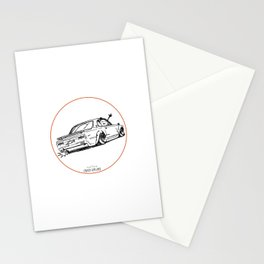 Crazy Car Art 0025 Stationery Cards