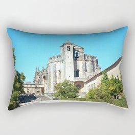 Portugal, Tomar (RR 188) Analog 6x6 odak Ektar 100 Rectangular Pillow