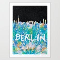 Berlin (Feat. Filipe Rolim) Art Print
