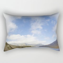 Two Hearts In The Sky Rectangular Pillow