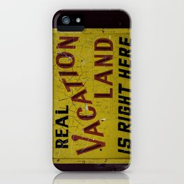 Staycation iPhone Case