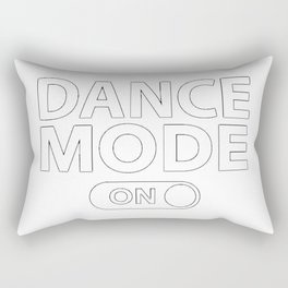 Dance Mode On Rectangular Pillow
