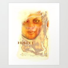 Haiti Portraits /06 / Series / 5 Art Print