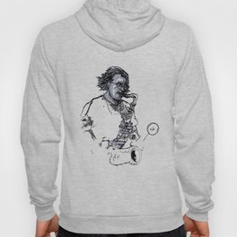 russ gershon of the either orchestra Hoody