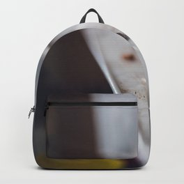 Close up of a chalk Backpack