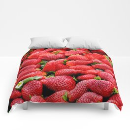 strawberries Comforters