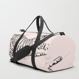Tiger and Sun I. Duffle Bag