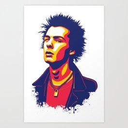 Sid Vicious Art Print