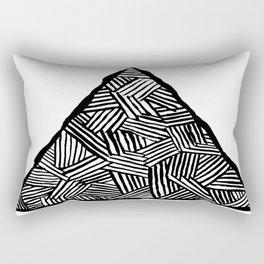 Tryangle Rectangular Pillow