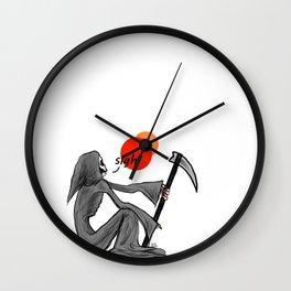 Reaper Sigh Wall Clock