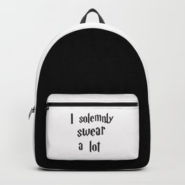 I solemnly swear a lot Backpack