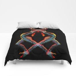 Metallic Rainbow Dancer Comforters
