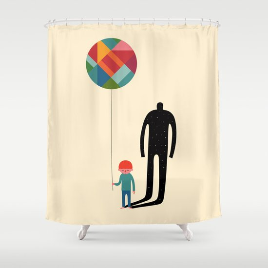 Grow Up Shower Curtain