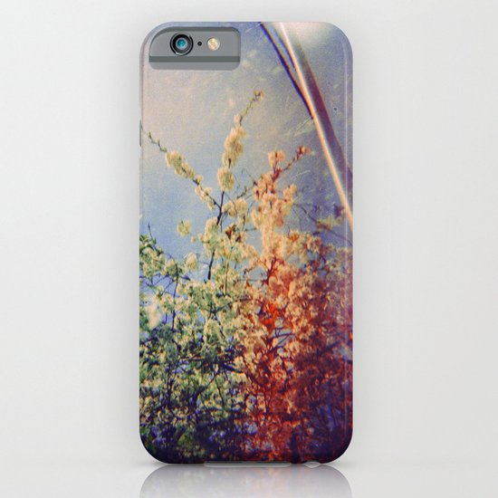 Holga Flowers IV iPhone & iPod Case