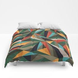 Sliced Fragments II Comforters