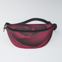 Abstract Rose Burgundy Passion Fanny Pack