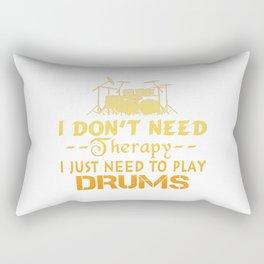 PLAY DRUMS Rectangular Pillow