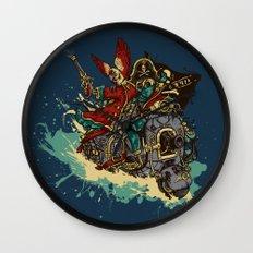 Sea Traveler Wall Clock