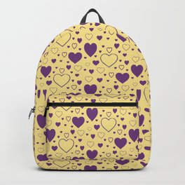 Seamless Hearts Pattern 026#001 Backpack
