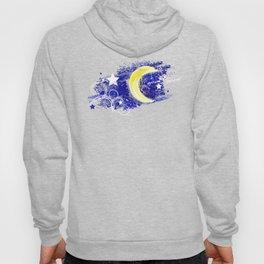 Moon painted Hoody