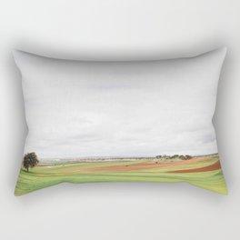 Countryside Landscape Rectangular Pillow
