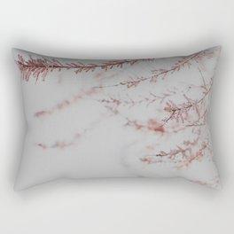 Soft Dusty Pink Lullaby Rectangular Pillow