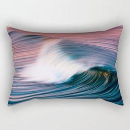 Sunrise Surf HB Pier 9/12/15  (Pk) Rectangular Pillow
